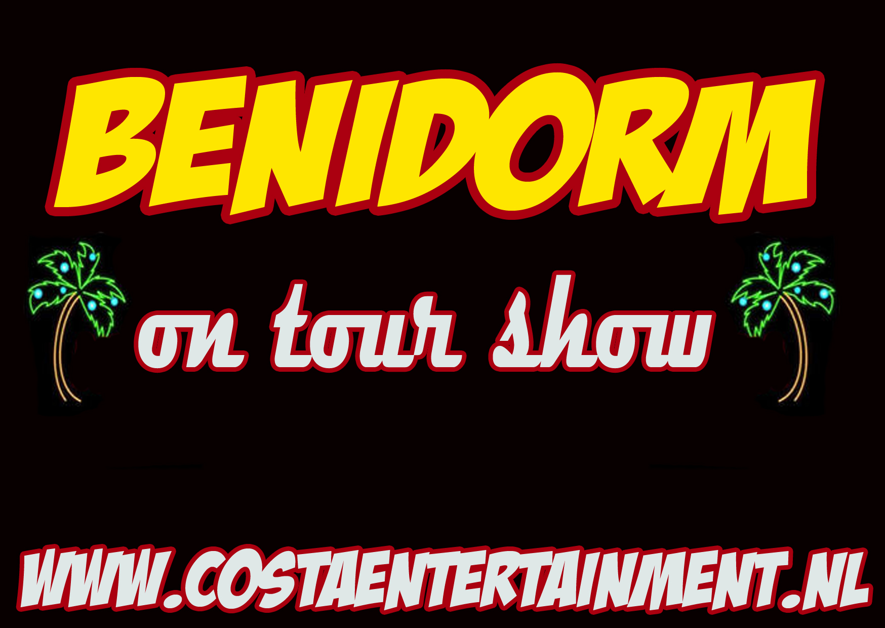 Benidorm on tour show